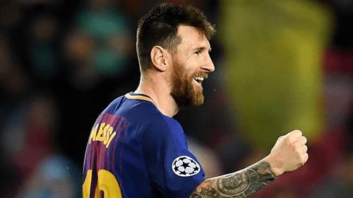 Messi makes Barca history