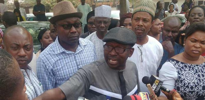 Protests trail suspension of NHIS boss