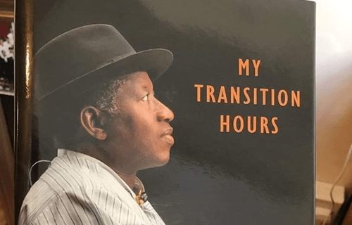 Jonathan Arrives Venue Of His Book Launch Amid Ovation