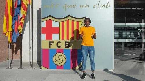 JUST IN: Asisat Oshoala joins Barcelona