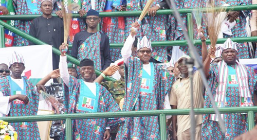 Lagos'll be delivered to Buhari, APC candidates, Ambode vows