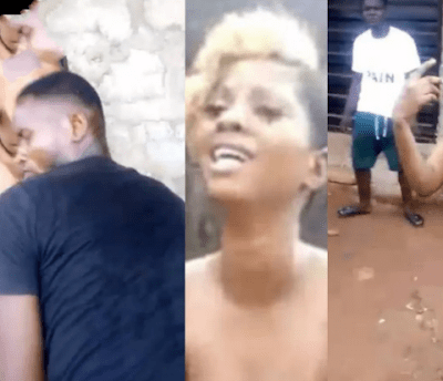 Guys Who Disgraced & Stripped A Lady Over Phone Nabbed