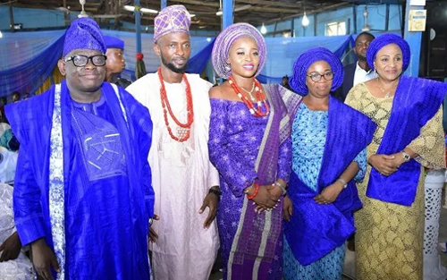 Dr Gbade Ojo, Ajimobi's COS Gave Out Daughter In Style