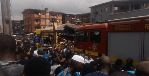59 rescued in Lagos school building collapse