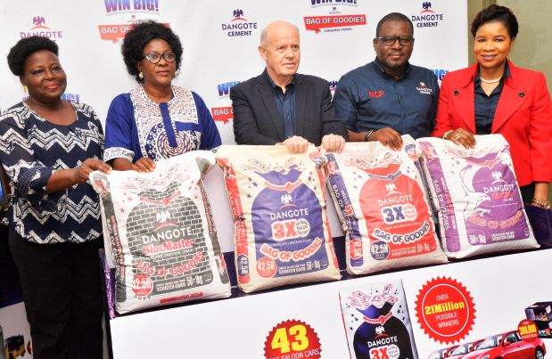 21 million winners to emerge in Dangote Cement Bag of Goodies promo