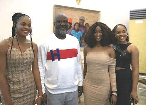 Dino Melaye hosts seven BBNaija-evicted housemates