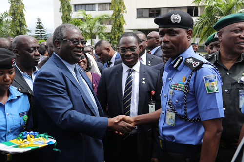 FIRS DONATES TROOP CARRIERS TO POLICE