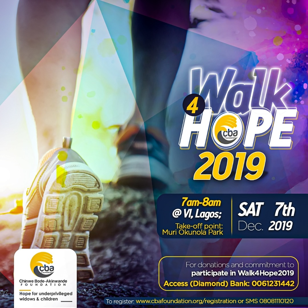 CBA Foundation holds Walk4Hope charity event Dec 7