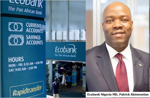 "Ecobank is the ""Go to"" Bank for Regional Trade in Africa –Akinwuntan"