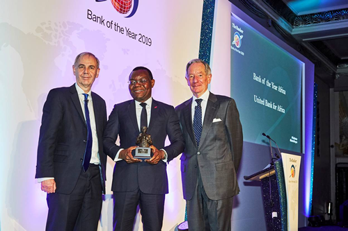 For second year running, UBA Group emerges African Bank of the Year