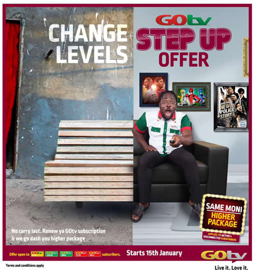 GOtv Step Up is Back! Watch LIVE Matches And OtherExciting Shows this Week