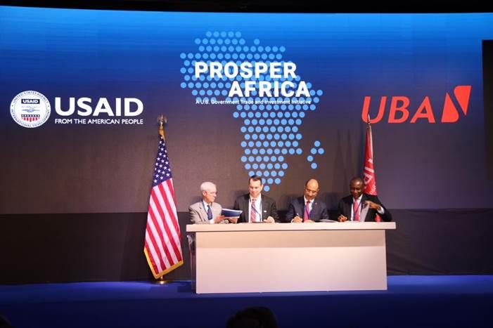 USAID, United Bank for Africa sign Memorandum of Understanding