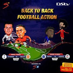 DStv subscribers to enjoy thrilling football action as Liverpool take a giant step towards first title in 30 years against Everton