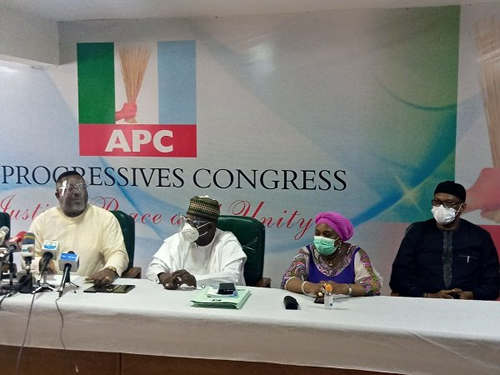 APC NWC affirms Ajimobi as acting chair, appoints panel for Edo primary