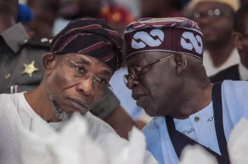 Lagos APC crisis worsens as Tinubu bans Aregbesola's political group