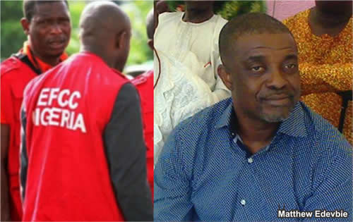 Delta Gov. Okowa's chief of staff, David Edevbie's brother in EFCC trouble, forfeits N827m