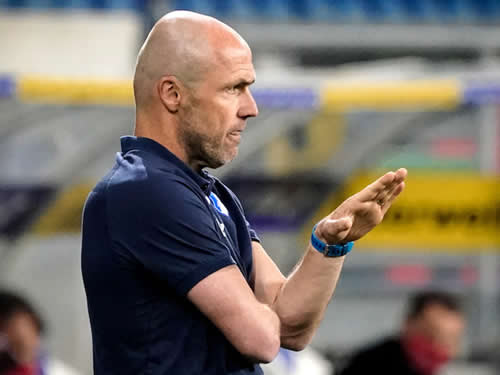 Hoffenheim sack head coach Alfred Schreuder with four games left in Bundesliga season