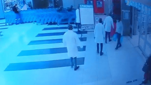 Thieves disguised as Covid-19 doctors in white coats 'rob pensioners in supermarket' in South Africa