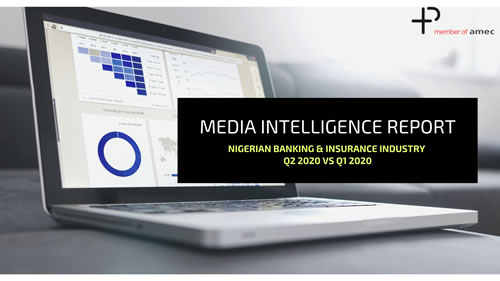 Media Monitoring and Measurement agency unveils Q2 Audit Report on Nigerian Banking and Insurance Industry.
