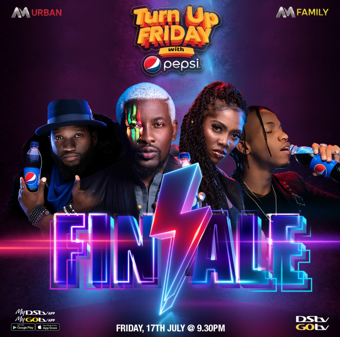 AM Turn Up Friday with Pepsi FINALE: Tiwa Savage, Tekno, DJ Obi Set to Excite Viewers