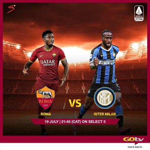 Roma vs Inter, Juventus vs Lazio, OthersLive This Weekend OnGOtvMax