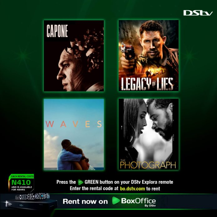 DStv BoxOffice hit movies for the weekend