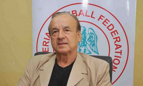 Super Eagles awaits FIFA's approval for September friendlies, says Rohr