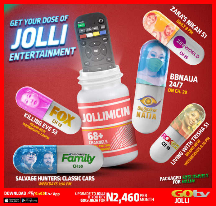 Beta Jolli for you this weekend with GOtv Jolli