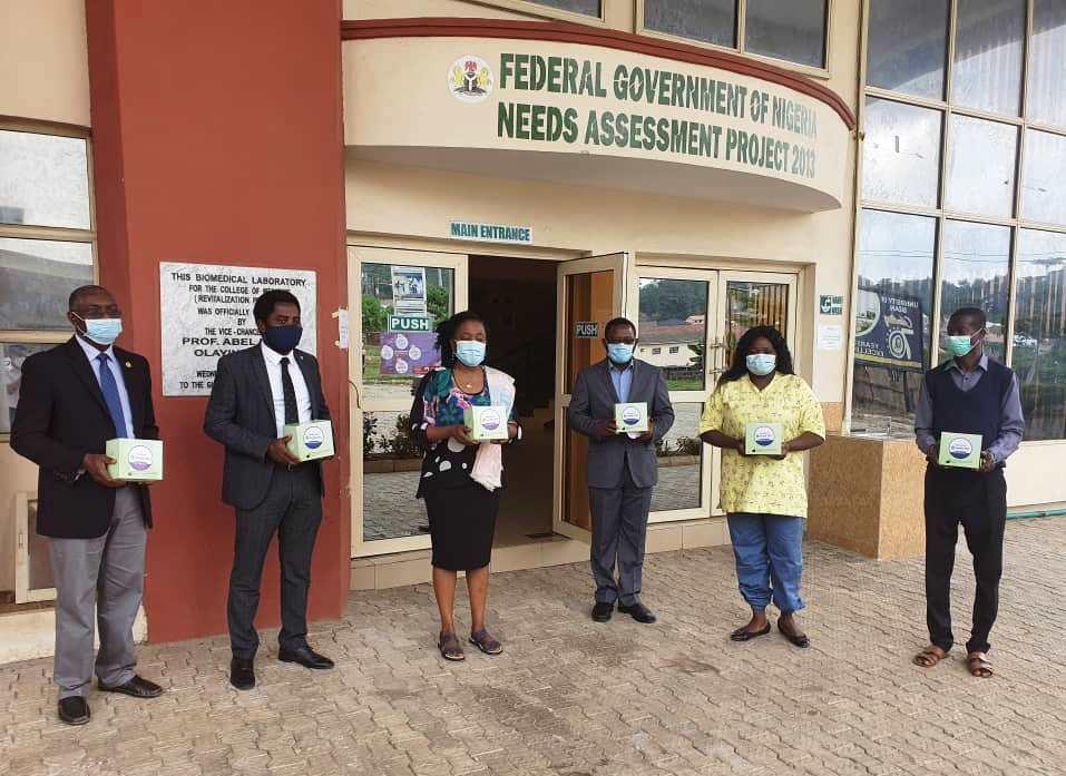 Stanbic IBTC Donates Covid-19 Test Kits to UCH, Ibadan.