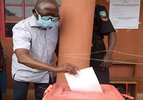 Adams Oshiomhole breaks silence on Edo election