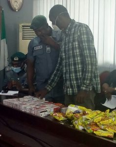 2,886 ATM cards concealed in noodles carton intercepted by Customs