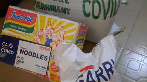 CACOVID commenced distribution of palliatives to state govts in June