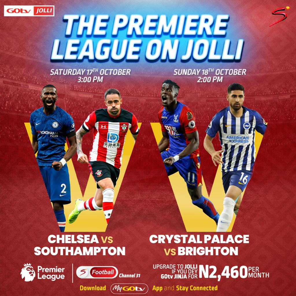 Live Premier League Action Continues This Weekend On GOtv