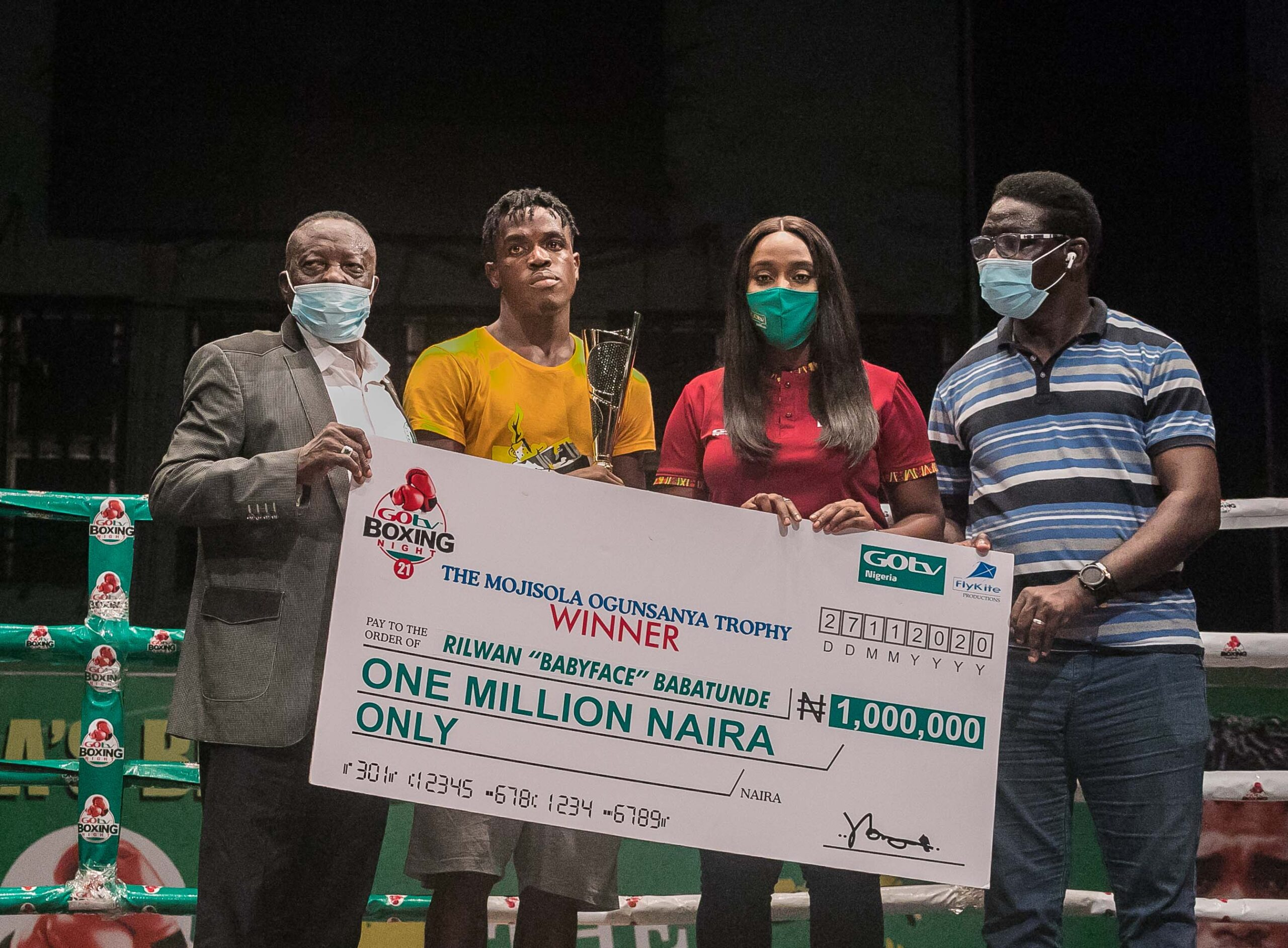 GOtv Boxing Night 21: Baby Face Thanks Sponsors for N1m Cash Prize