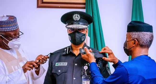 Osinbajo to Ag. I-G: You must restore confidence, dignity of NPF