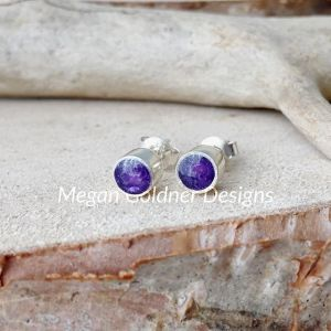 Sterling Silver Memorial Stud Earrings