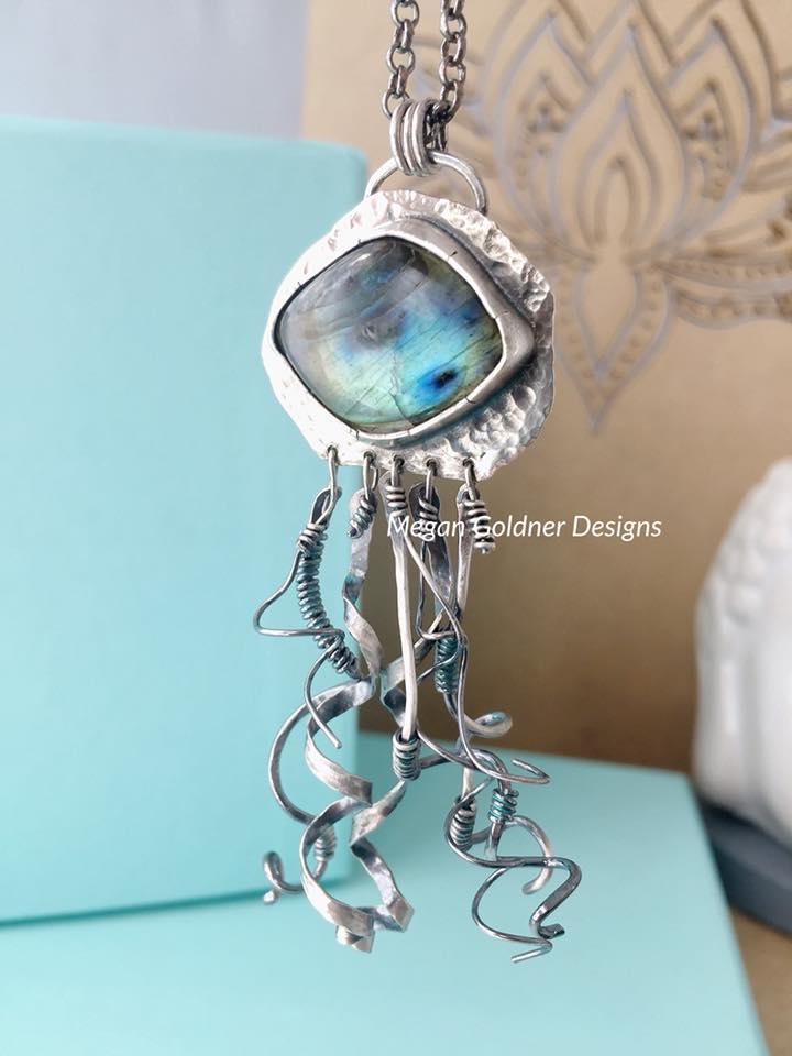 Sterling Silver OOAK Necklace #5