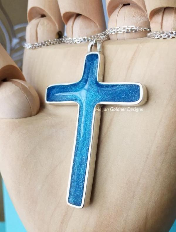 Sterling Silver Keepsake Cross Necklace