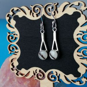 Sterling Silver Keepsake Caru Earrings