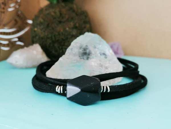 Keepsake Faceted Bead Double Wrap Bracelet