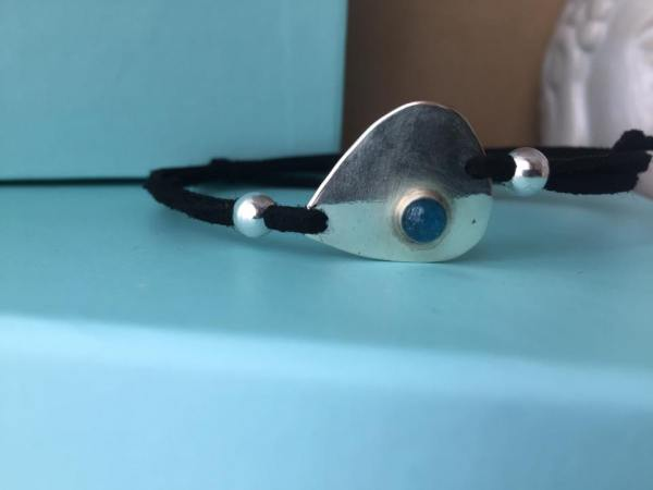 Sterling Silver Keepsake Guitar Pick Bracelet