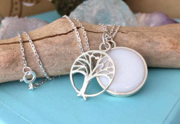 Sterling Silver Keepsake Rohati Necklace