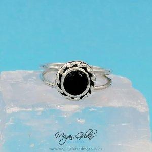 Sterling Silver Keepsake Rope Halo Ring