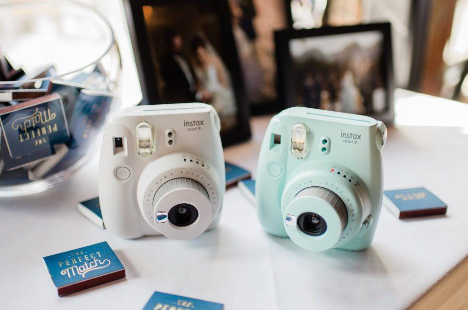 houston wedding reception Polaroid