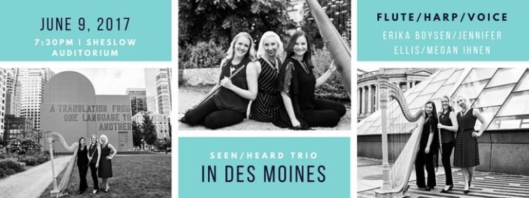 Seen/Heard Trio Des Moines