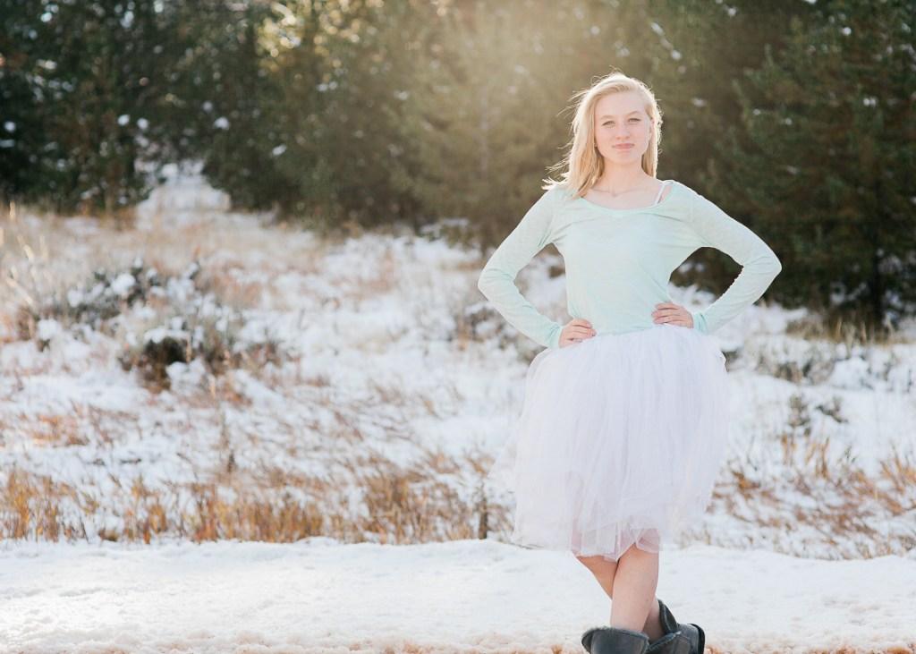 Senior portraits by Megan Lee Photography based in Laramie Wyoming.