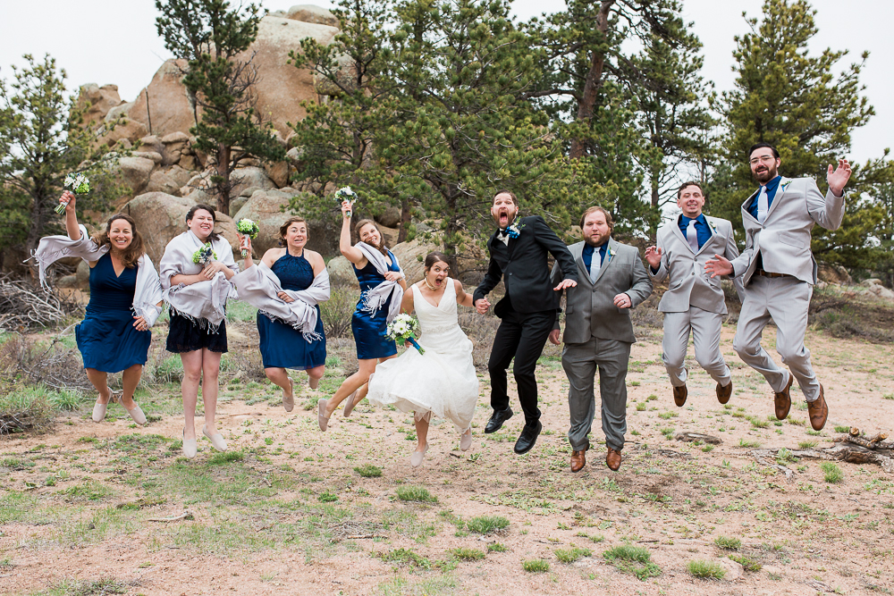 Curt Gowdy State Park Rustic Wedding at Hynds Lodge
