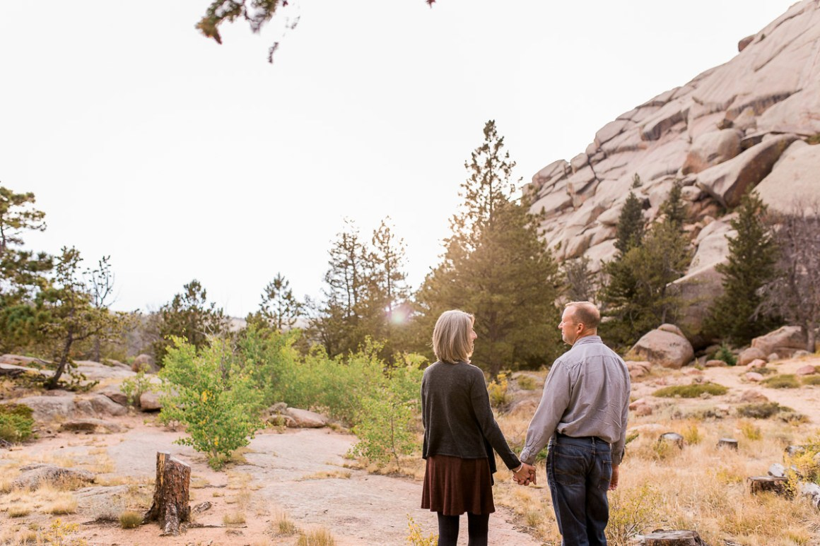 Vedauwoo couples anniversary photography session near Cheyenne wyoming