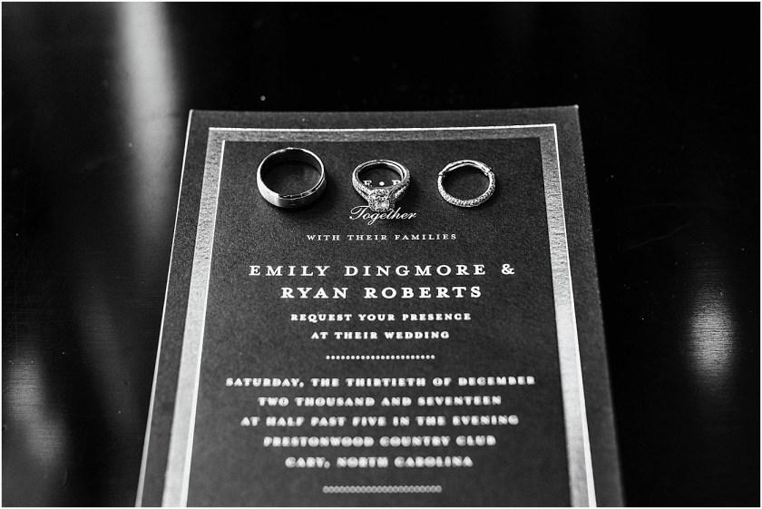 EMILY + RYAN // PRESTONWOOD COUNTRY CLUB WEDDING // CARY, NC