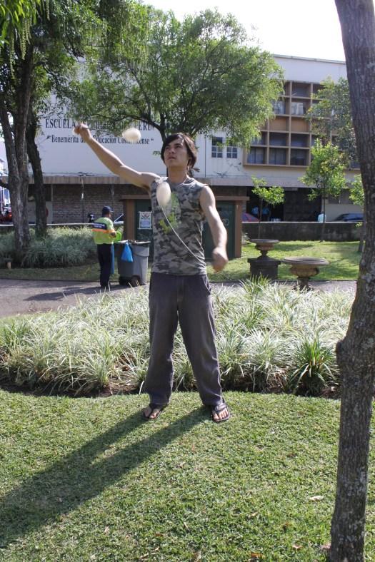 James Spinning in San Jose, Costa Rica 2014